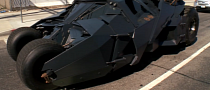Jay Leno Goes for a Drive in Batman's Tumbler [Video]