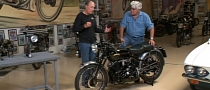 Jay Leno Introduces Thornton Suspensions for Vincent Motorcycles [Video]