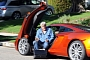 Jay Leno Presidential Vote in McLaren MP4-12C