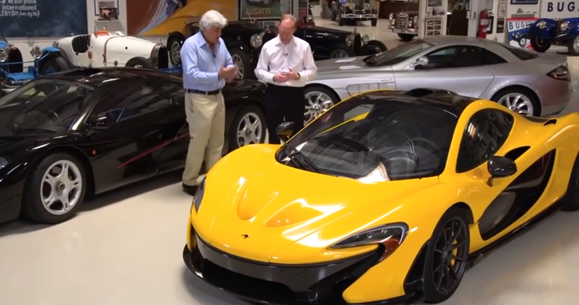 jay leno puts lots of miles on mclaren p1 i 39 ve never seen a car that stops like this. Black Bedroom Furniture Sets. Home Design Ideas