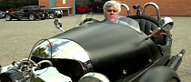 Jay Leno Tests Morgan Threewheeler [Video]