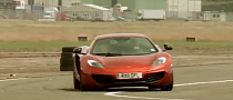 Jay Leno Visits McLaren, Takes His MP4-12C for a Spin [Video]