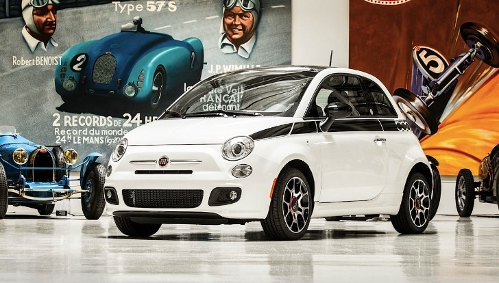 Jay Leno's Fiat 500 Auctioned Off for Charity: $385,000