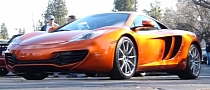 Jay Leno's McLaren MP4-12C Spotted in California [Video]