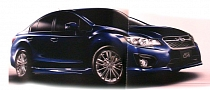 JDM 2012 Subaru Impreza G4 Sedan and Sport Hatchback Leaked