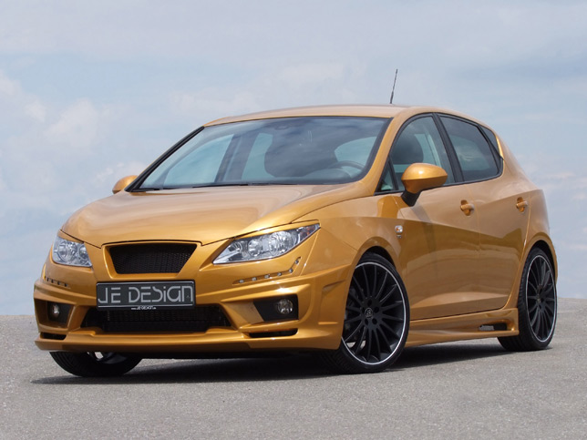 je design seat ibiza 6j gold revealed autoevolution. Black Bedroom Furniture Sets. Home Design Ideas