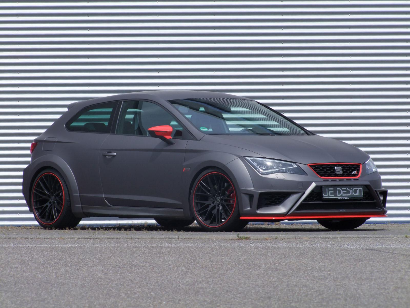 je design�s seat leon cupra widebody kit impersonates leon