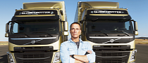 Jean-Claude Van Damme Test Drives the Volvo FM Truck [Video]