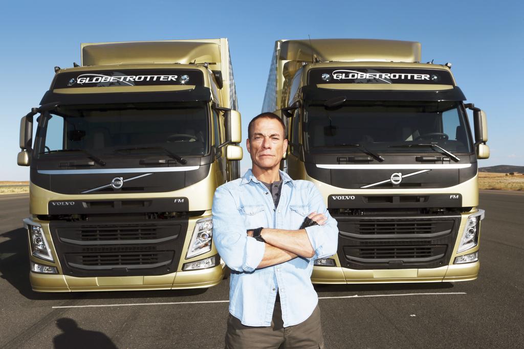 Jean-Claude Van Damme Test Drives the Volvo FM Truck - autoevolution
