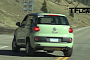 Jeep B-SUV / Fiat 500X Test Mule Film in the Wild [Video]