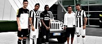 Jeep Debuts on Juventus Turin Home Jersey as Main Sponsor