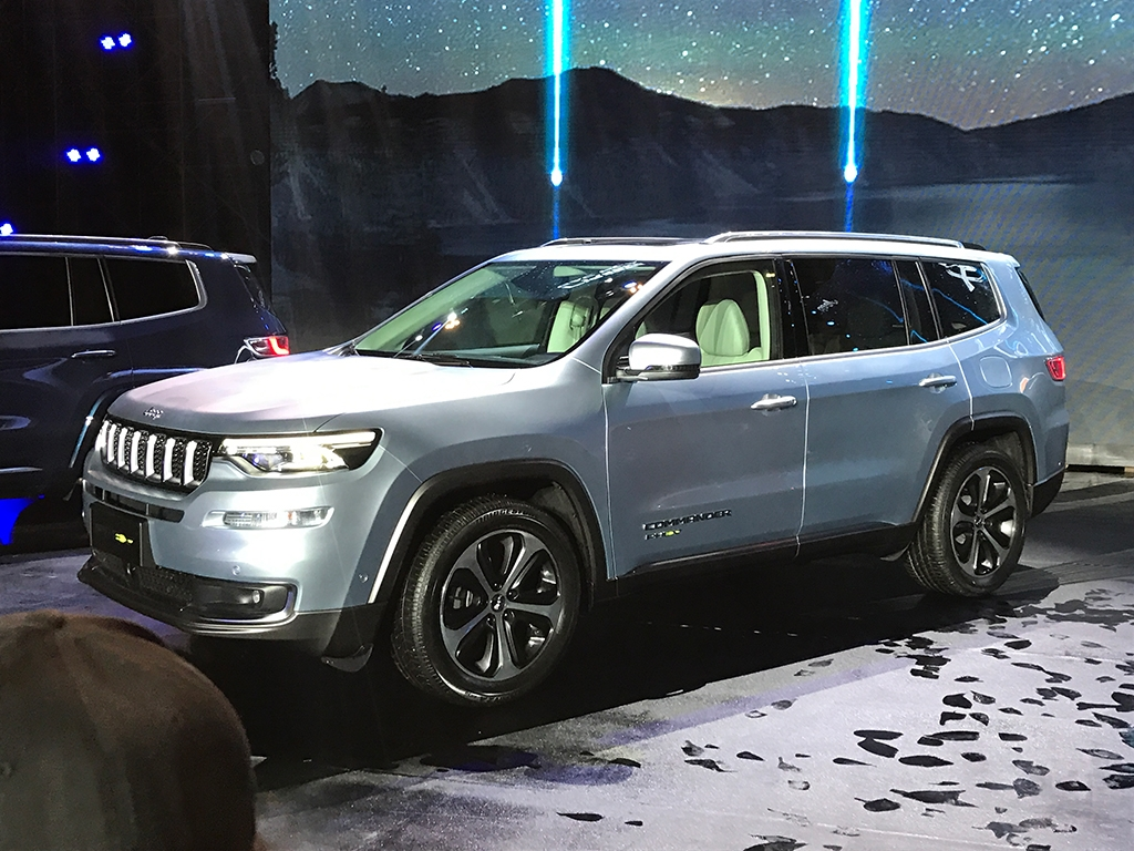 CAUGHT: 2021 Jeep Grand Commander PHEV In Production Body ...