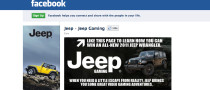 Jeep Is First US Brand with Over 1 Million Facebook Fans