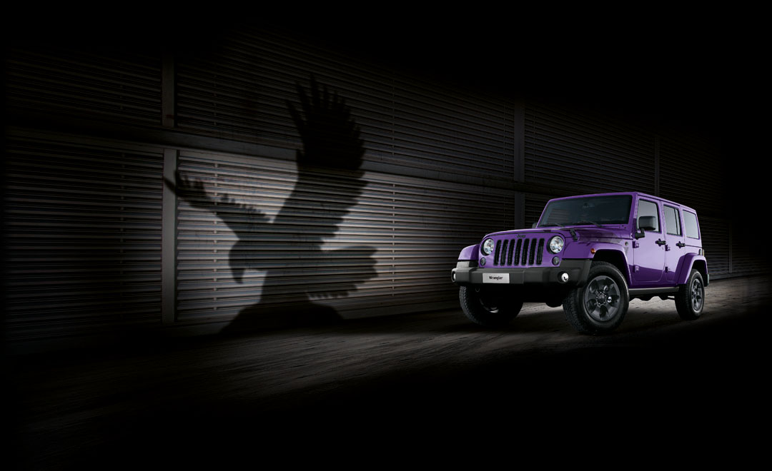jeep makes the legendary wrangler purple for the night eagle limited edition autoevolution. Black Bedroom Furniture Sets. Home Design Ideas