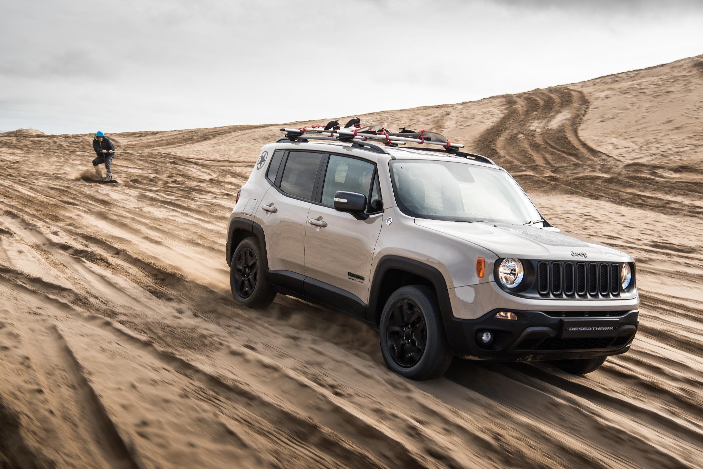 Jeep Renegade Desert Hawk >> Jeep Renegade Puts Its Desert Hawk Suit On It S Limited To