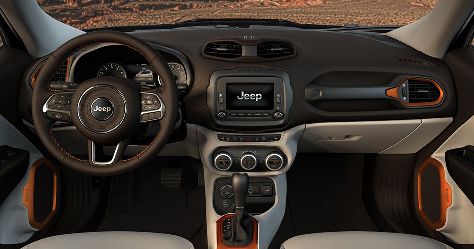Jeep Renegade Limited Interior Images Galleries With A Bite