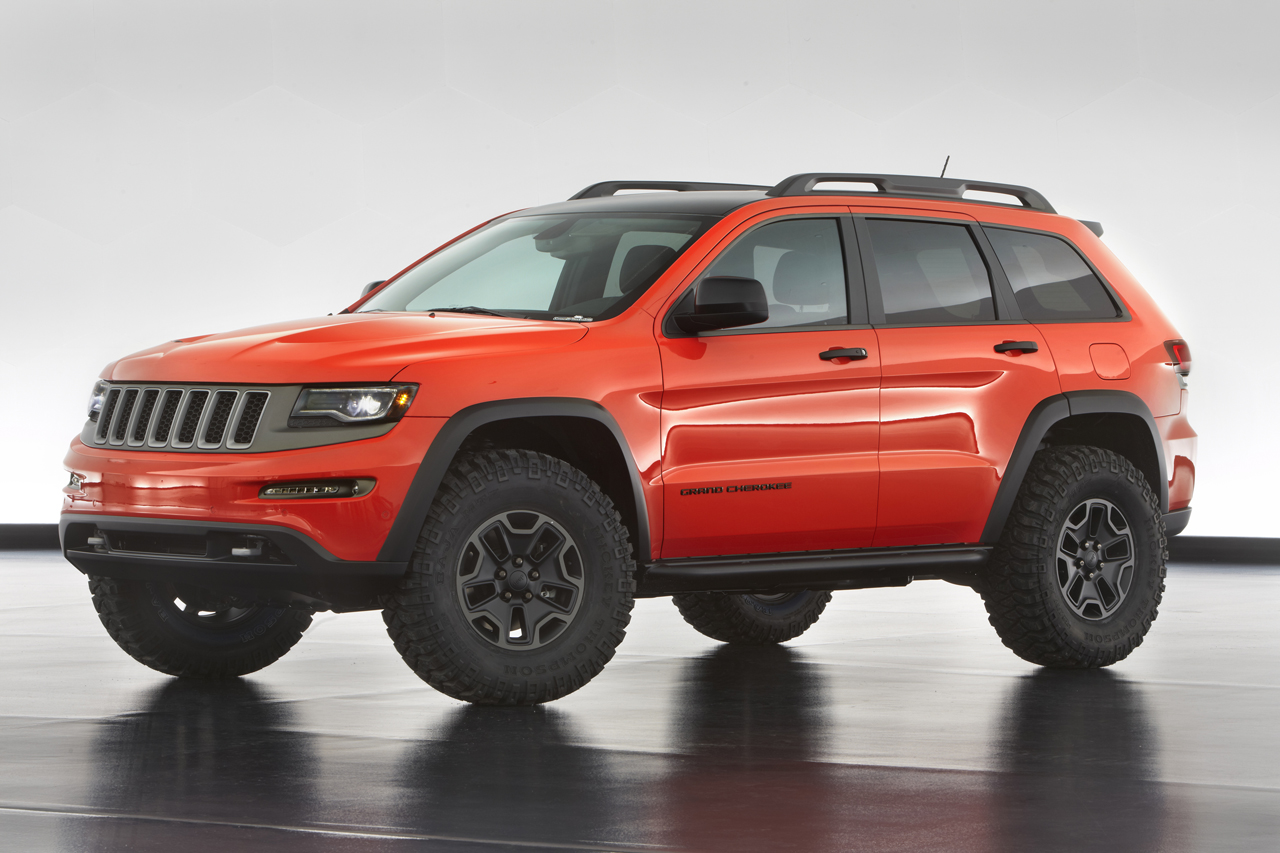 jeep reveals grand cherokee trailhawk concept autoevolution. Black Bedroom Furniture Sets. Home Design Ideas