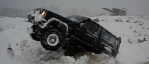 Jeep Winter Driving Stunt is Funny [Video]