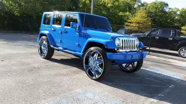 Jeep Wrangler Donk The Wrong Kind Of Lift Autoevolution