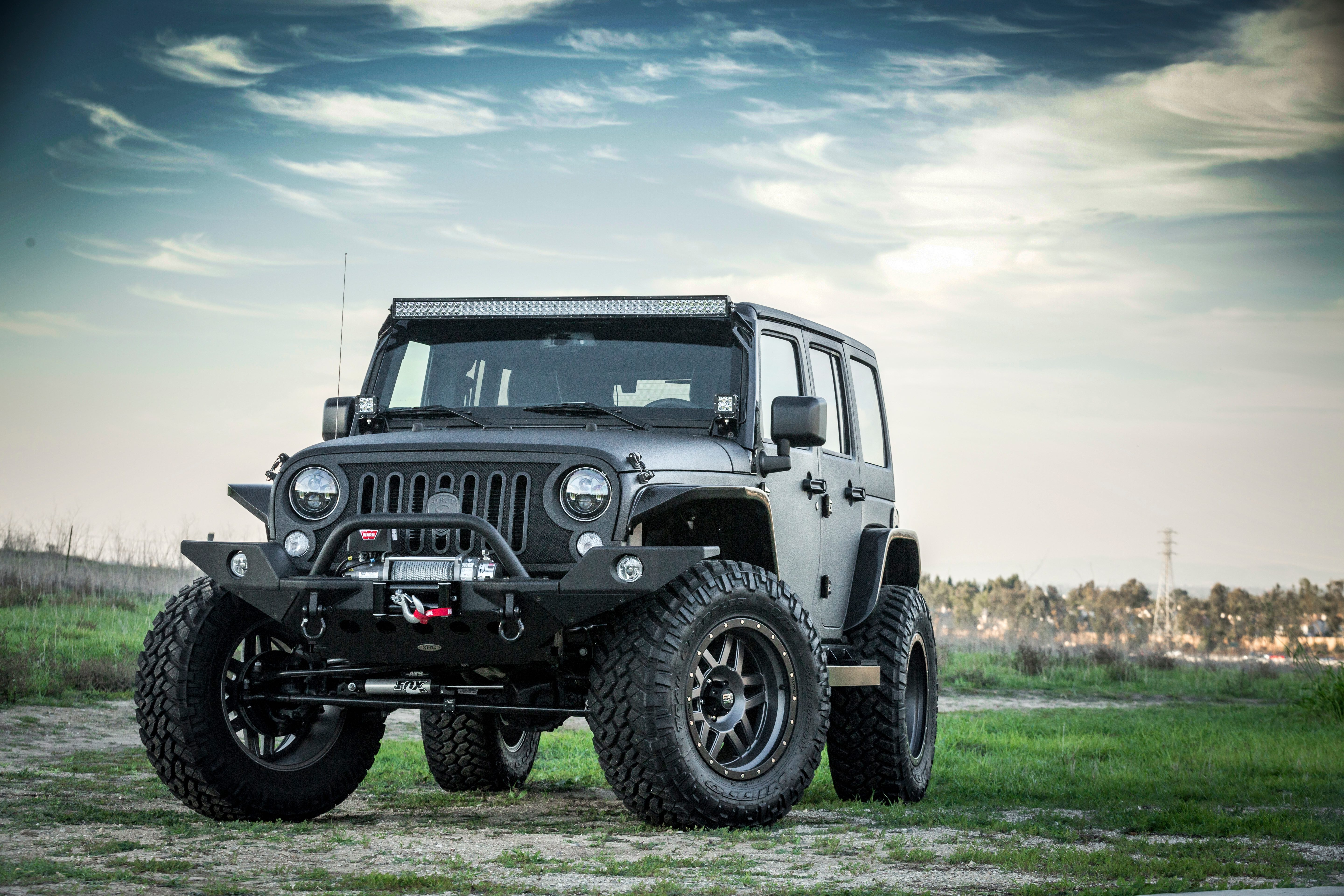 Jeep Wrangler Gets Three Custom New Grilles from STRUT They All