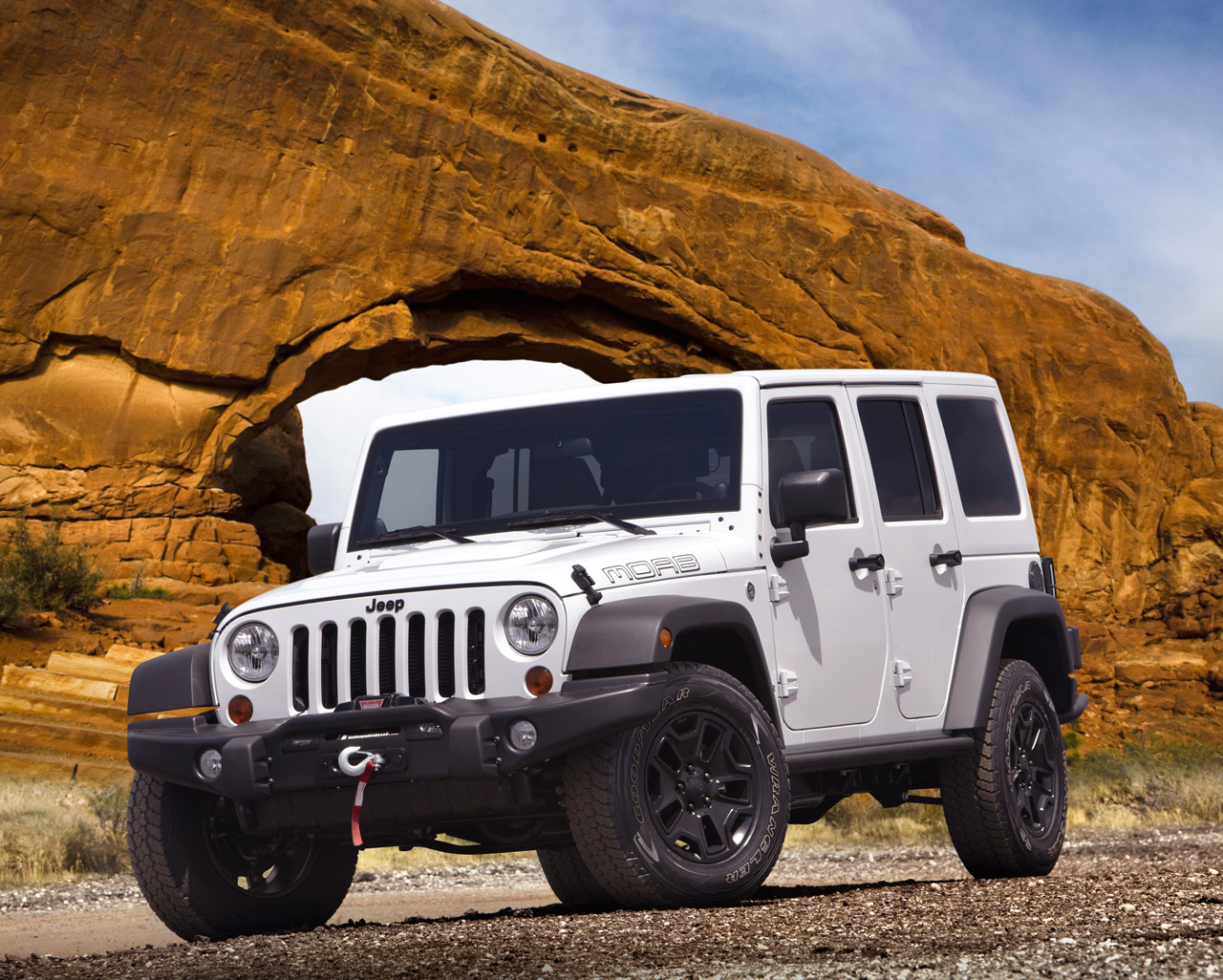 Jeep wrangler moab special edition