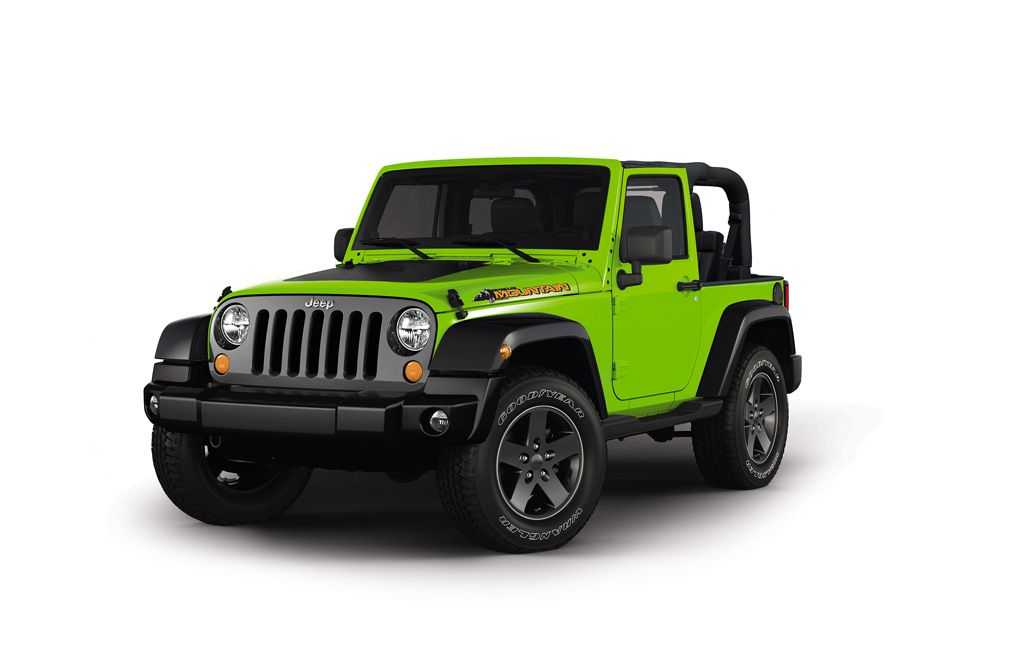 Jeep Wrangler Mountain Edition to Debut in Geneva - autoevolution