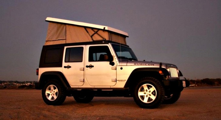 Jeep Wrangler Pop-Top Camper by Ursa Minor Vehicles [Photo Gallery]