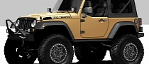 Jeep Wrangler Sand Trooper: HEMI 4x4 for 2012 SEMA
