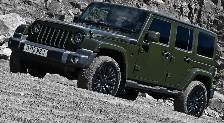 Jeep Wrangler Unlimited Touched by Kahn