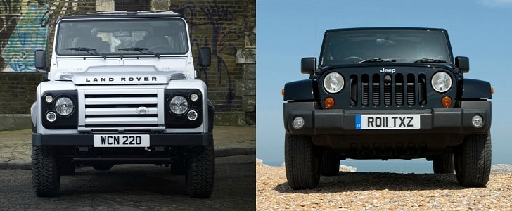 Jeep Wrangler Vs Land Rover Defender Review Reveals Some