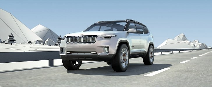Jeep Yuntu Concept Previews New Three-Row Crossover