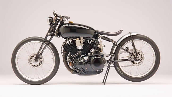 Jeff Decker 1952 Vincent Rapide Black Lightning Under the Hammer [Photo Gallery]