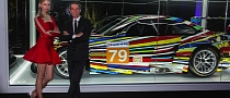 Jeff Koons' BMW Art Car Unveiled at Art Basel in Miami Beach [Photo Gallery]