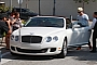 Jennifer Lopez Spotted Riding in Casper Smart's Bentley Droptop