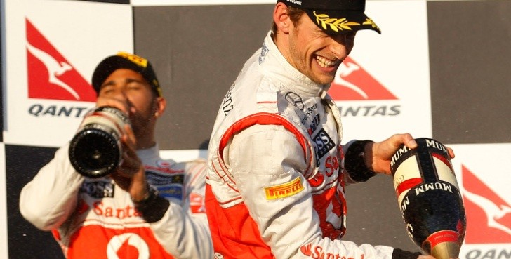Jenson Button Wins Formula 1 Australian Grand Prix for McLaren