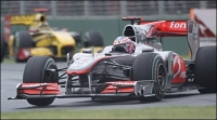 Jenson Button wins in a dramatic Australian GP