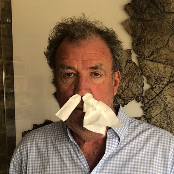 Jeremy Clarkson Believes Driving Will Keep You Safe During