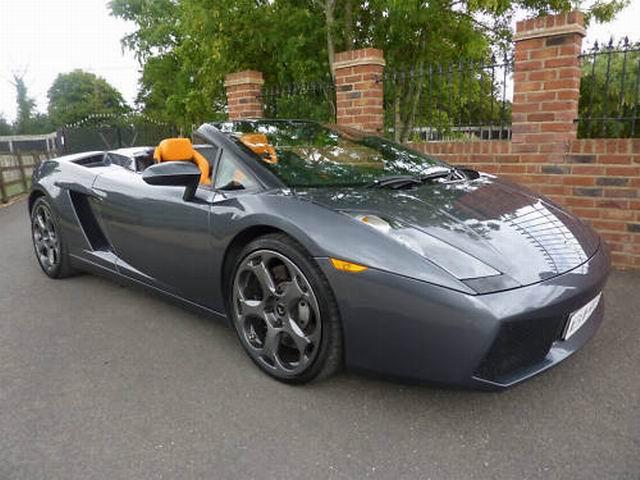 Jeremy Clarkson S Lamborghini Gallardo Spyder For Sale