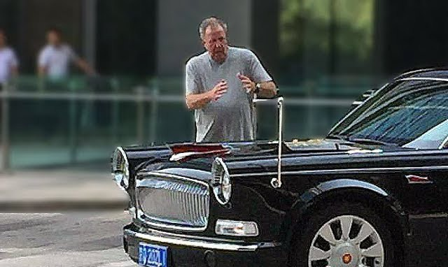 Jeremy Clarkson Spotted Filming Hongqi L5 Limo in China - autoevolution