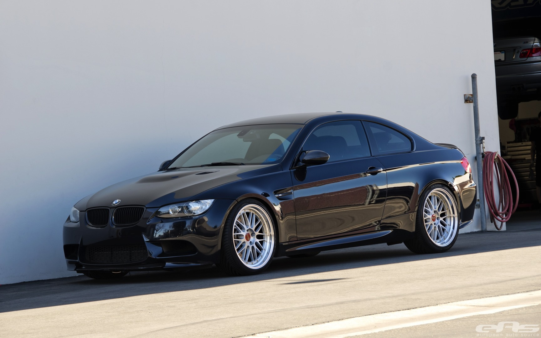 jerez black bmw e92 m3 gets serious upgrades autoevolution. Black Bedroom Furniture Sets. Home Design Ideas
