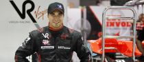 Jerome D'Ambrosio Makes F1 Debut with Marussia Virgin