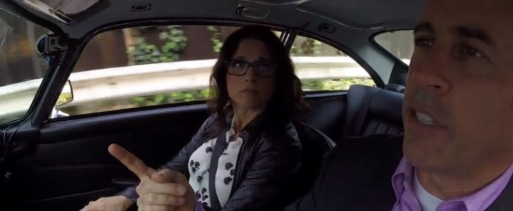 Driving In Cars With Comedians Julia Louis Dreyfus