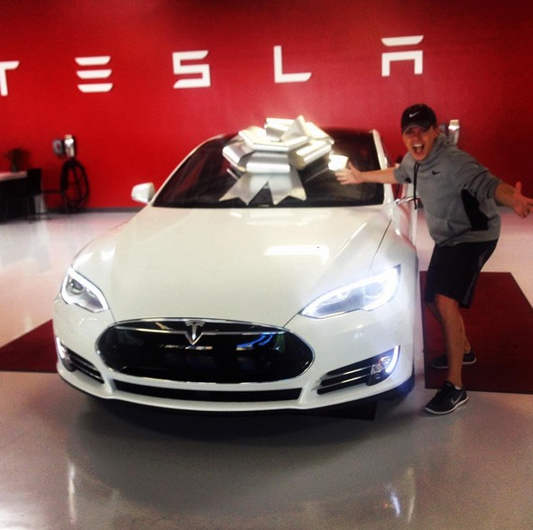 Tesla Update >> Jesse McCartney Joins the Tesla Model S P85D Owners Club - autoevolution