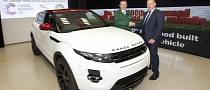 JLR Celebrates 1 Million Vehicle Built at Halewood Factory