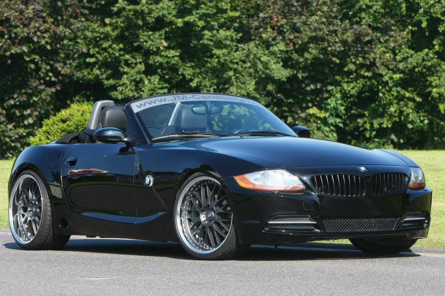 Jm Cardesign Customizes The Old Bmw Z4 Autoevolution