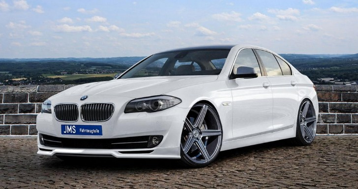 JMS Prepped BMW F10 5 Series Has Minor Modifications