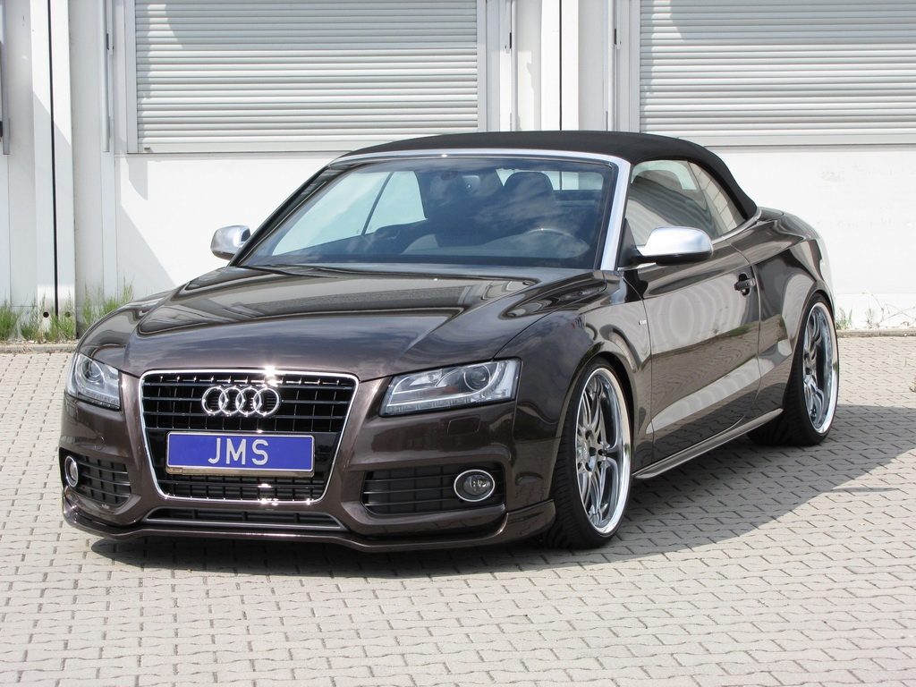 jms touches the audi a5 cabrio s line autoevolution. Black Bedroom Furniture Sets. Home Design Ideas