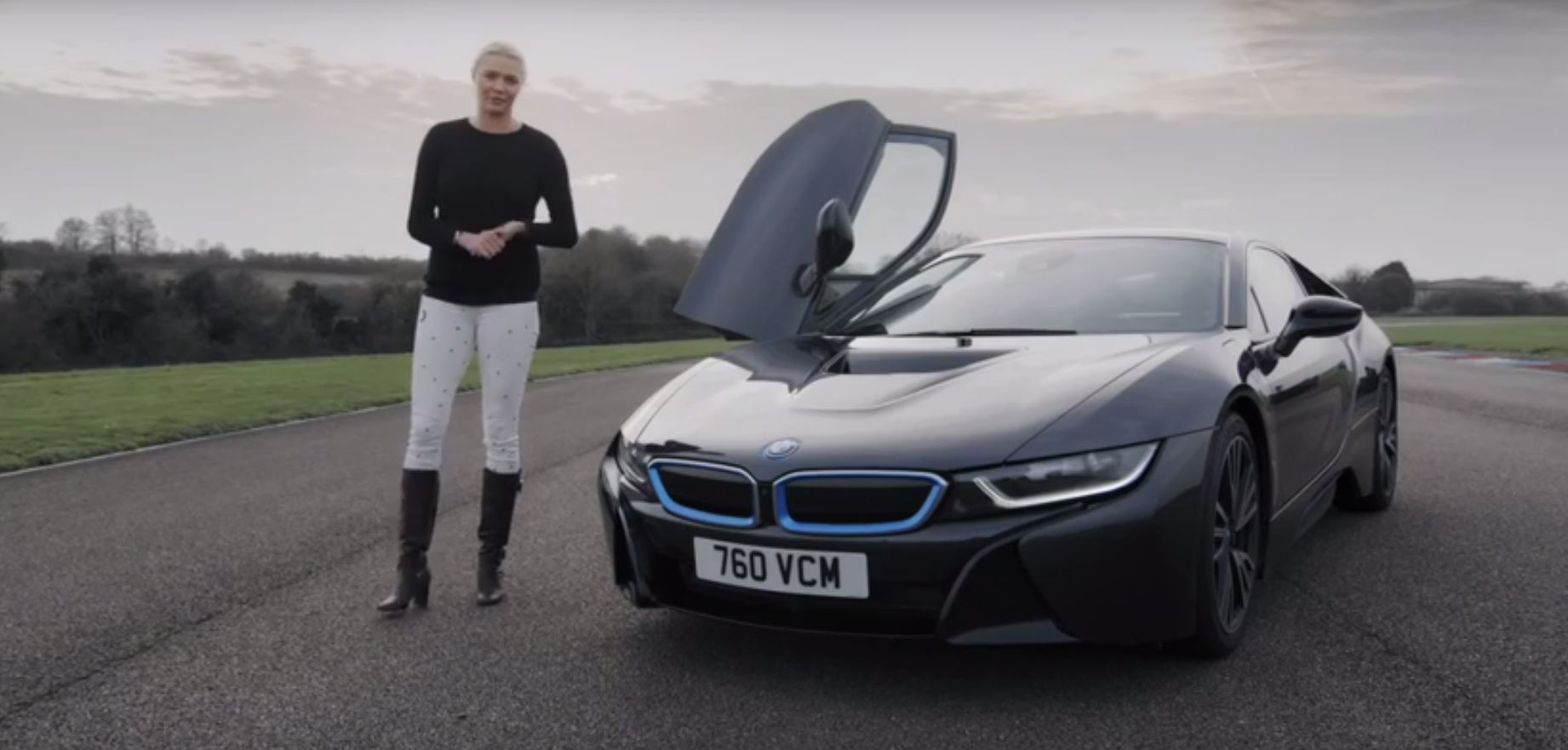 Jodie Kidd Does I3 And I8 Reviews Sponsored By Bmw Still Looks Hot