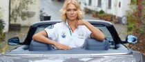 Jodie Kidd Launches La Martina for Maserati Anniversary Polo Shirt