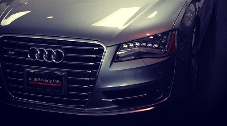 Joel Madden Crops Nicole Richie Out of Audi S8 Photo